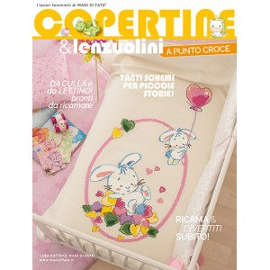 Mani di Fata Magazine - Cross Stitch Baby Layette and Sheets