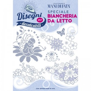 Hand Embroidery Designs - Bed Linen n. 257