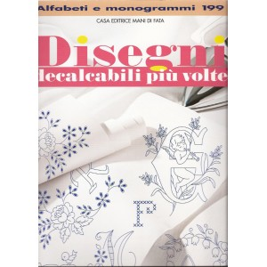 Hand Embroidery Designs - Alphabets and Monograms n. 199