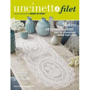 Mani di Fata Magazine - Filet Crochet 4