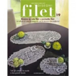 Rivista Mani di Fata - Disegni Filet 19