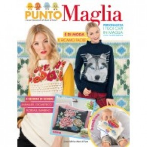 Mani di Fata Magazine - Knit Embroidery Stitch
