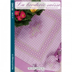 Embroidery Magazine - Gingham Checked 4