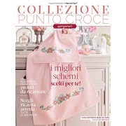 Mani di Fata Magazine - Cross Stitch Bath Towels Patterns Collection