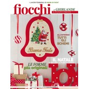 Mani di Fata Magazine - Christmas Bows and Garlands to Cross Stitch