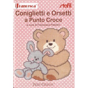 Cross Stitch Book for Baby - Rabbit and Bears