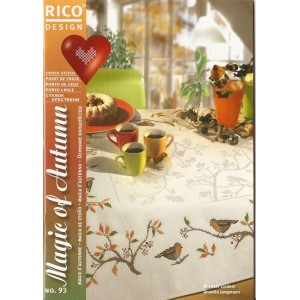 Cross Stitch Magazine - Rico Design Magie d'Autunno n.93