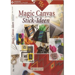 Libretto Creativo - Magic Canvas - Idee da Ricamare 102