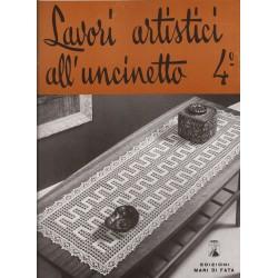 Revista Mani di Fata - Labores Artisticos de Ganchillo  n. 4