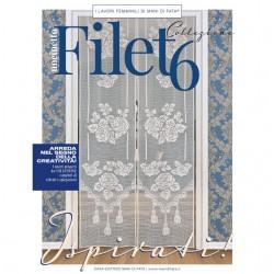 Mani di Fata Magazine - Filet Crochet 6