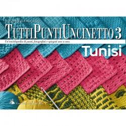 Revista Mani di Fata - Todos los Puntos de Crochet 3 - Tunisino
