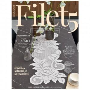 Mani di Fata Magazine - Filet Crochet 5