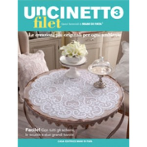 Revista Mani di Fata - Crochet Filet n. 3