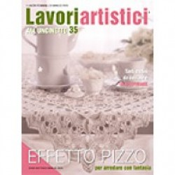 Mani di Fata Magazine - Crochet Artistic Works n. 35