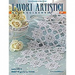 Mani di Fata Magazine - Crochet Artistic Works n. 39
