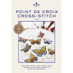 DMC - Embroidery Book with Cross Stitch Patterns 15480/22