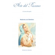 Religious Cross Stitch Pattern - Virgin and Child