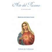 Religious Cross Stitch Pattern - Sacred Heart of Mary