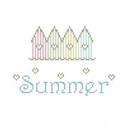 Cross Stich Pattern - Summer