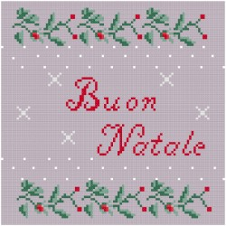 Cross Stich Pattern - Merry Christmas
