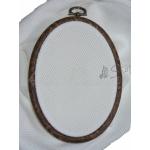 DMC Marcos Bastidores Oval - 17,5 x 13 cm