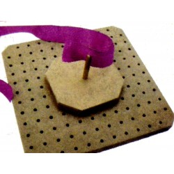 Wood Frame for Felt Flower and Knitting Motis