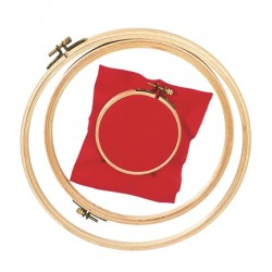 DMC - Wood Embroidery Hoop - 15,5 cm diameter