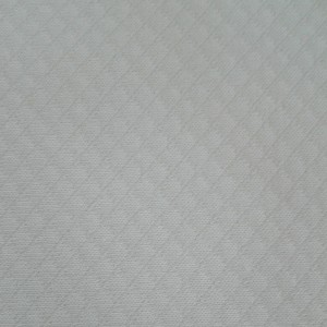 Tela Interlock Rombo Blanco - Ancho 160 cm