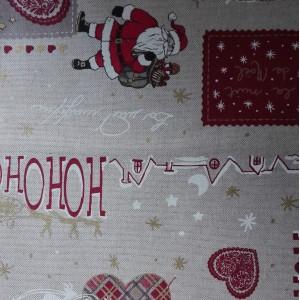 Tela de Navidad Papa Noel - Ancho 280 cm