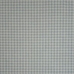 Cotton Fabric - Small Checkered Fabric - Light Blue Color