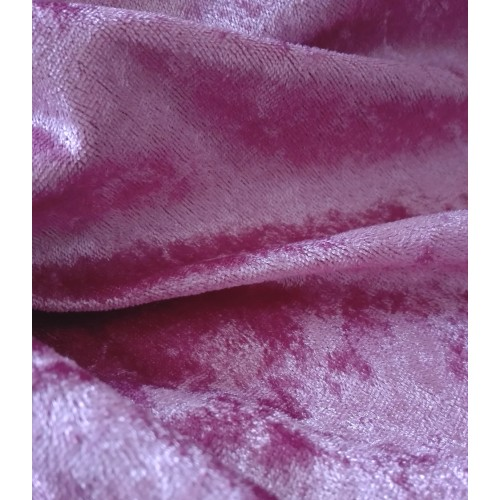 Tessuto Ciniglia - Rosa Antico