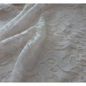 Tessuto in Pizzo - Colore Panna
