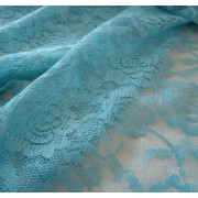 Lace Fabric - Color Turquoise