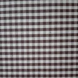 Tessuto Quadretti - Punto Suisse - Altezza 180 cm  - Moka