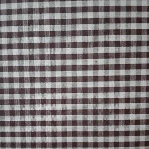 Tela a Cuadros - Punto Suizo - Ancho 180 cm - Moka