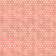 Cotton Fabric  Pink with Little Stars