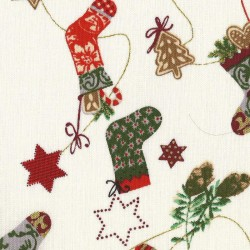Patchwork Fabric - Christmas Stockings