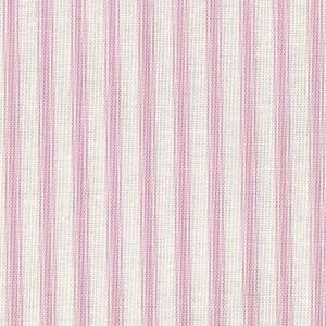 Patchwork Fabric Pink Ticking Stripe