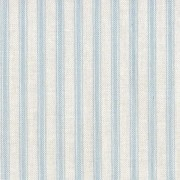 Patchwork Fabric Light Blue Ticking Stripe
