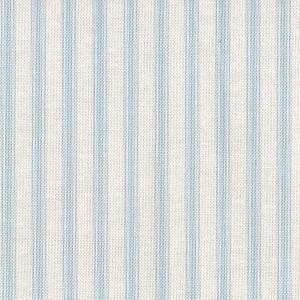 Patchwork Fabric Light Blue Ticking Stripe