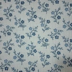 Tessuto Patchwork - Ramage Blu