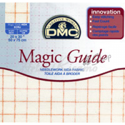 DMC Tela Aida Magica para Bordar - 7pts/cm