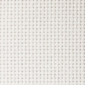 Aida Fabric - 14 count - Width 180 cm - Color White