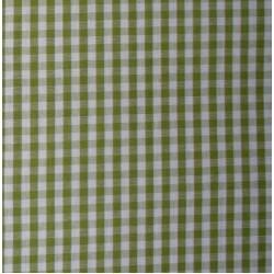 Tessuto Quadretti - Punto Suisse - Altezza 180 cm  - Verde