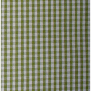Checkered Fabric - Width 180 cm - Green