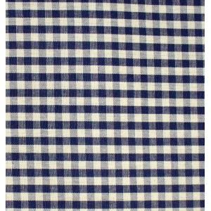 Tessuto Quadretti - Punto Suisse - Altezza 180 cm  - Blu