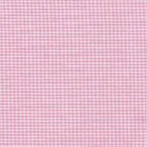 Checked Fabric Zephir - Pink