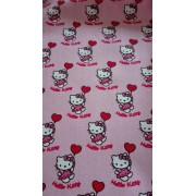 Tela de Patchwork Hello Kitty