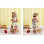 Cotton Fabric All Fruit Collection - Apples