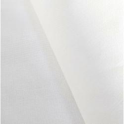 Rustichella Cotton Fabric - Width 180 cm - White